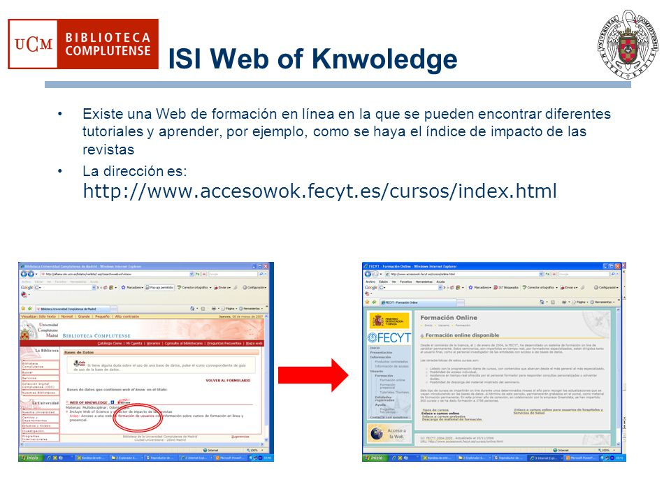 ISI Web of Knwoledge