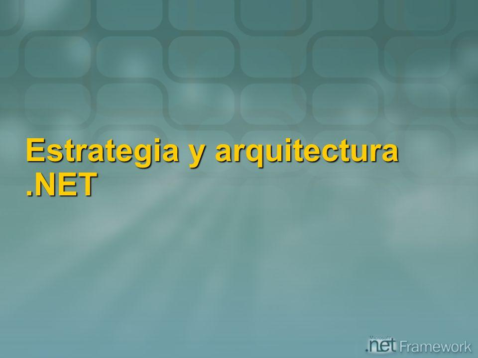 Estrategia y arquitectura .NET