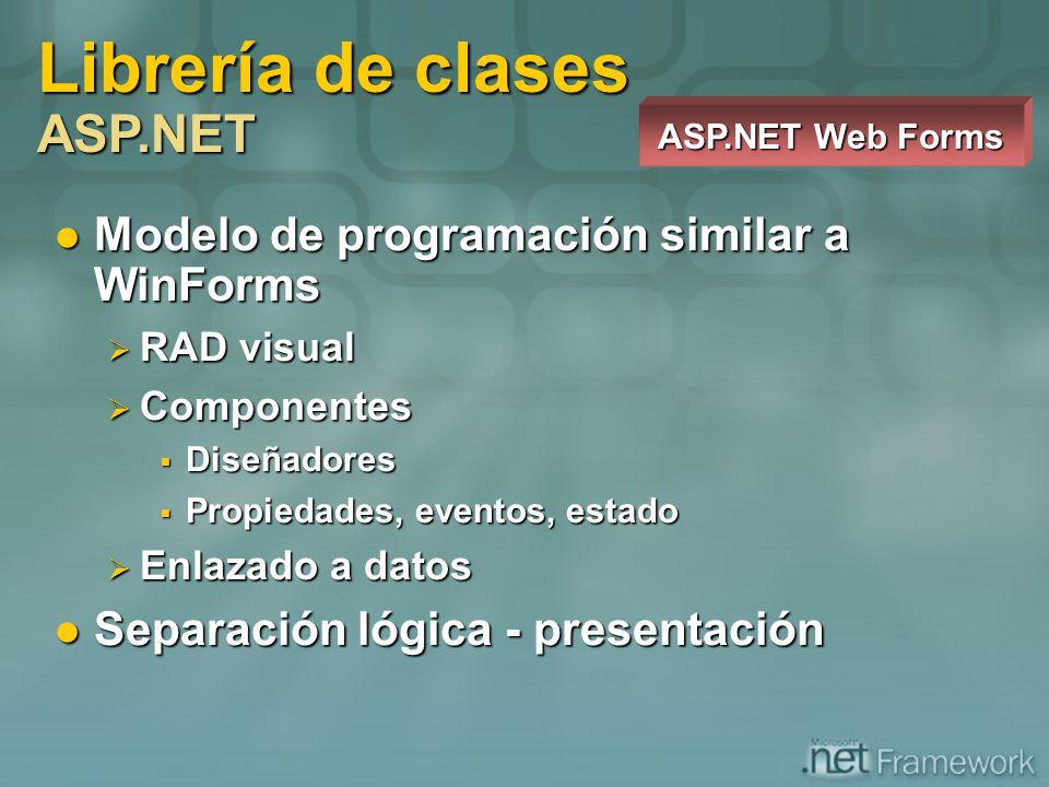 Librería de clases ASP.NET