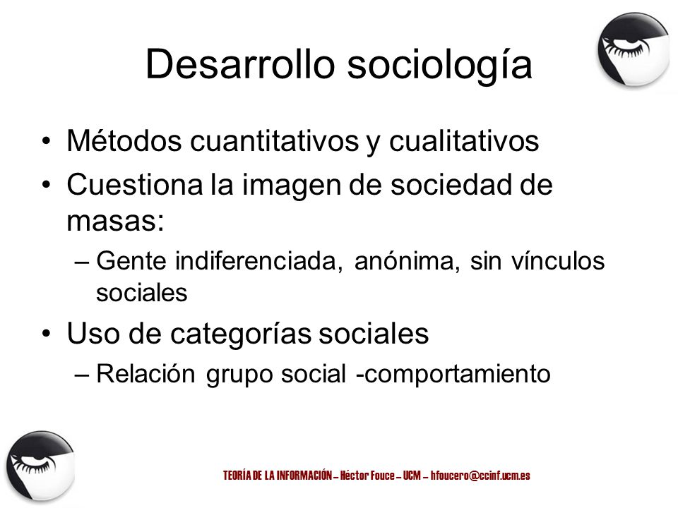 Desarrollo sociología