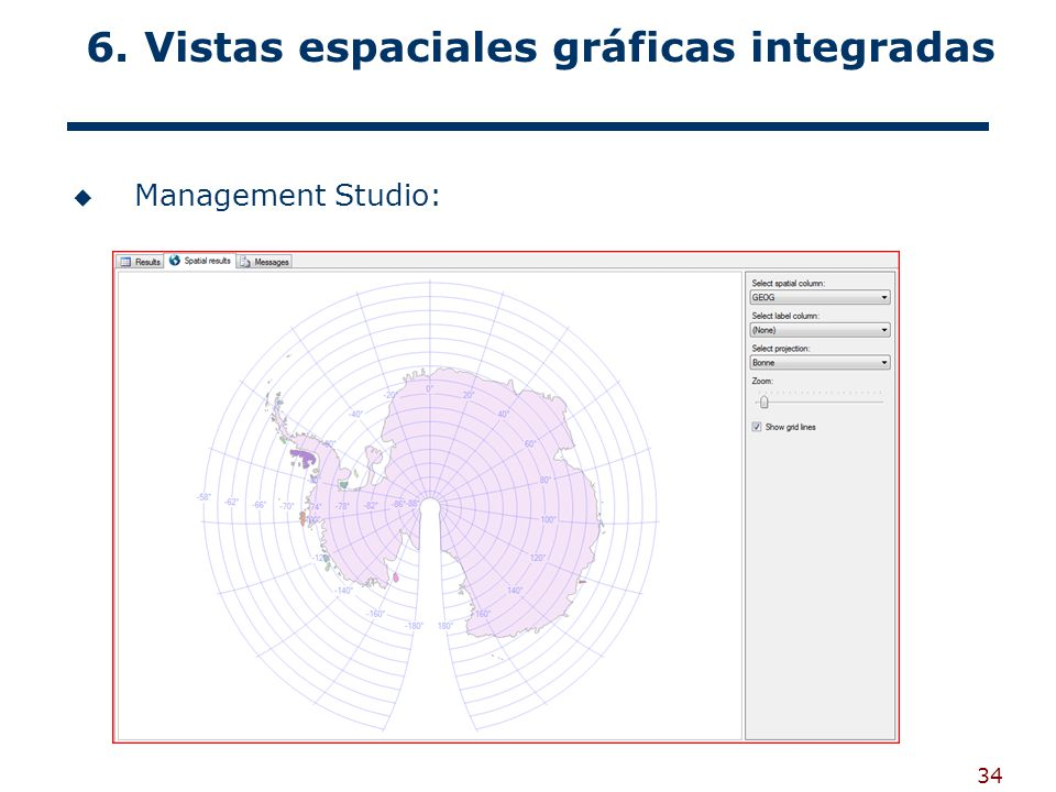 6. Vistas espaciales gráficas integradas