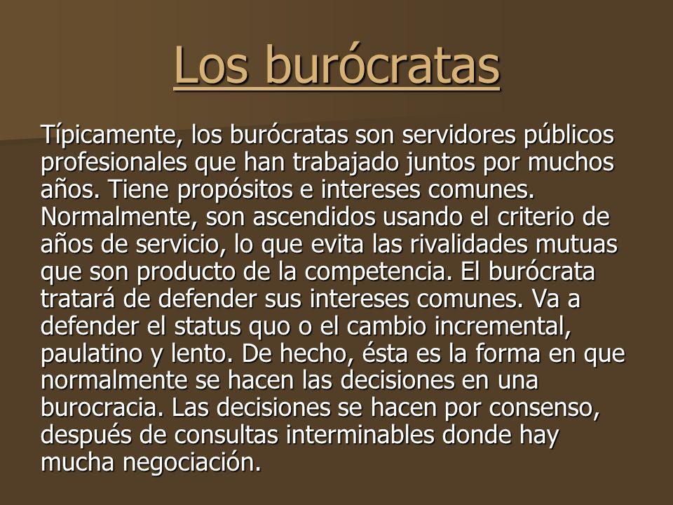 Los burócratas