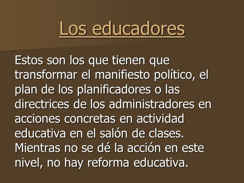 La reforma educativa y sus procesos ppt descargar for La accion educativa en el exterior