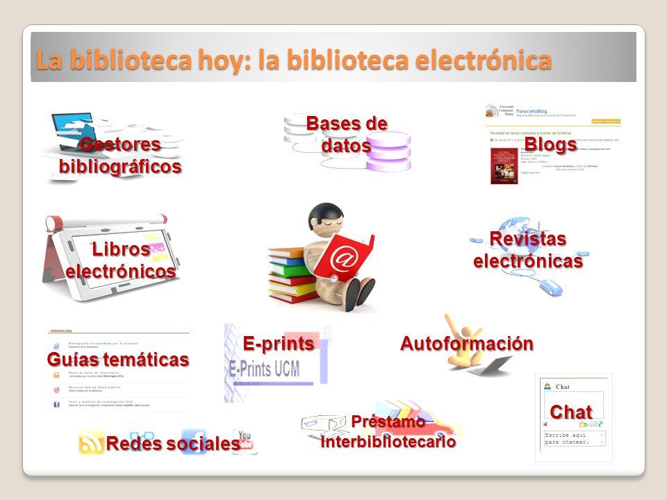 La biblioteca hoy: la biblioteca electrónica