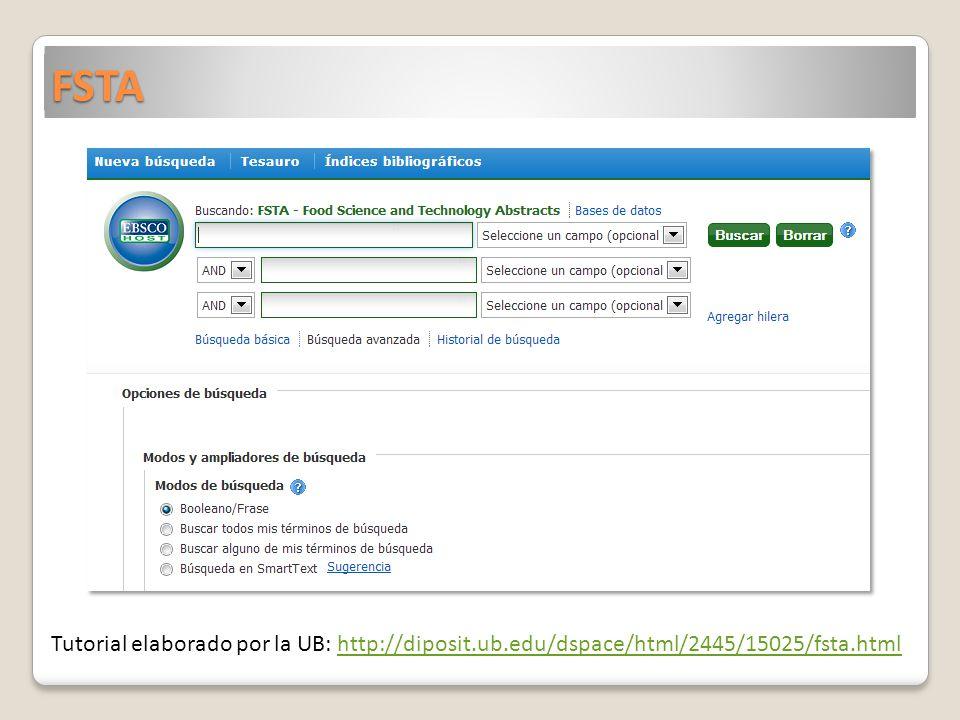 FSTA Tutorial elaborado por la UB: http://diposit.ub.edu/dspace/html/2445/15025/fsta.html