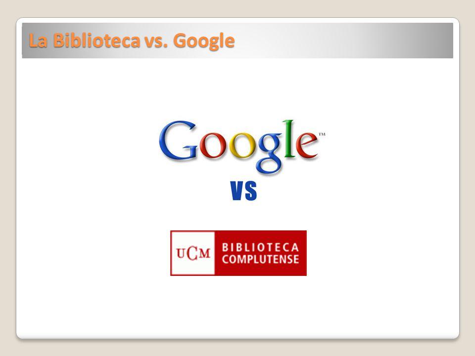 La Biblioteca vs. Google