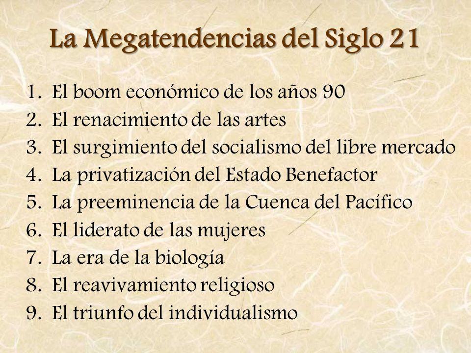 La Megatendencias del Siglo 21