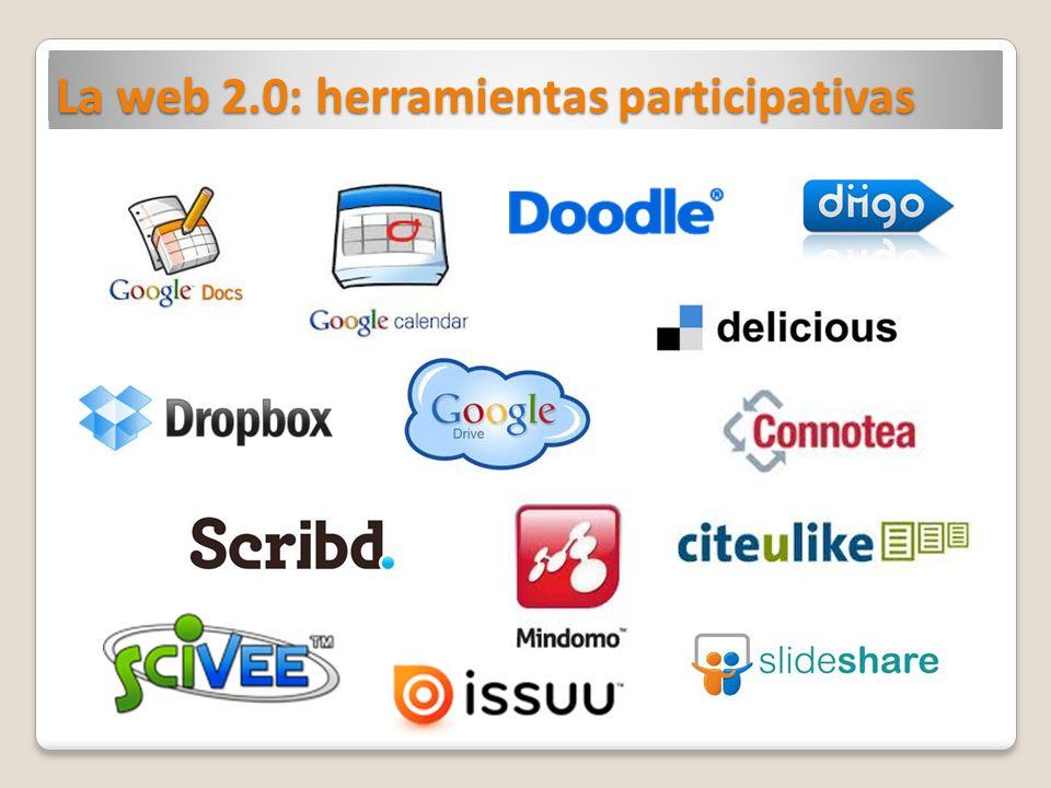 La web 2.0: herramientas participativas
