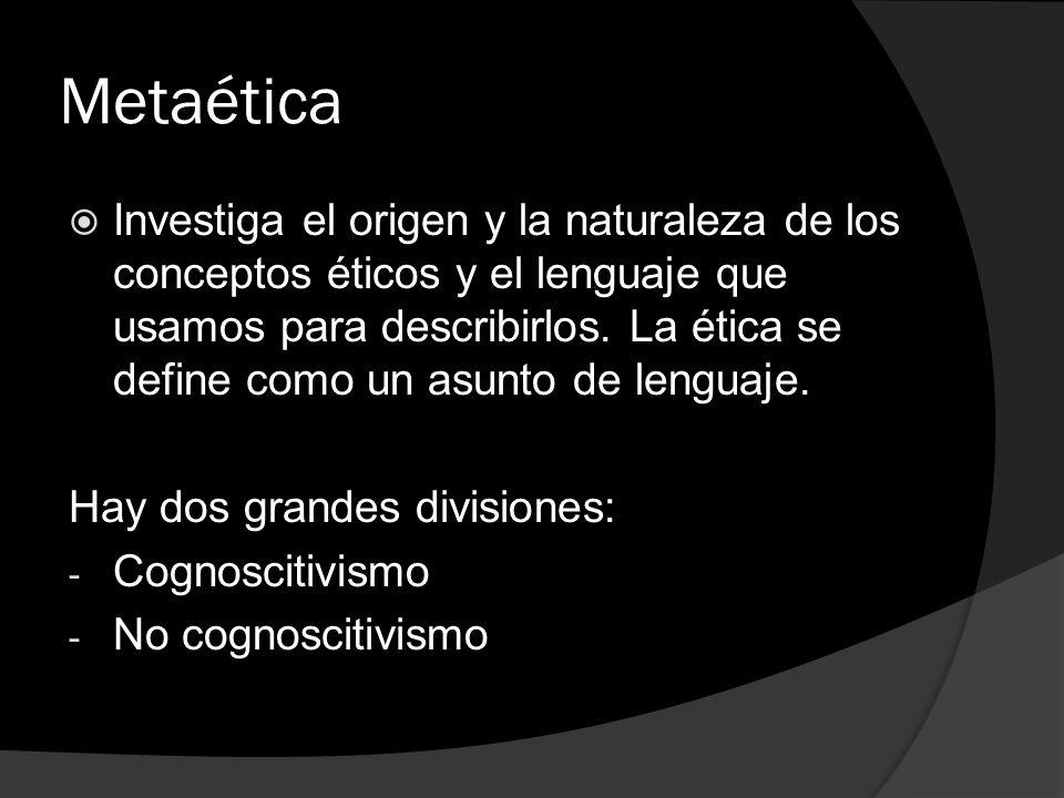 Metaética