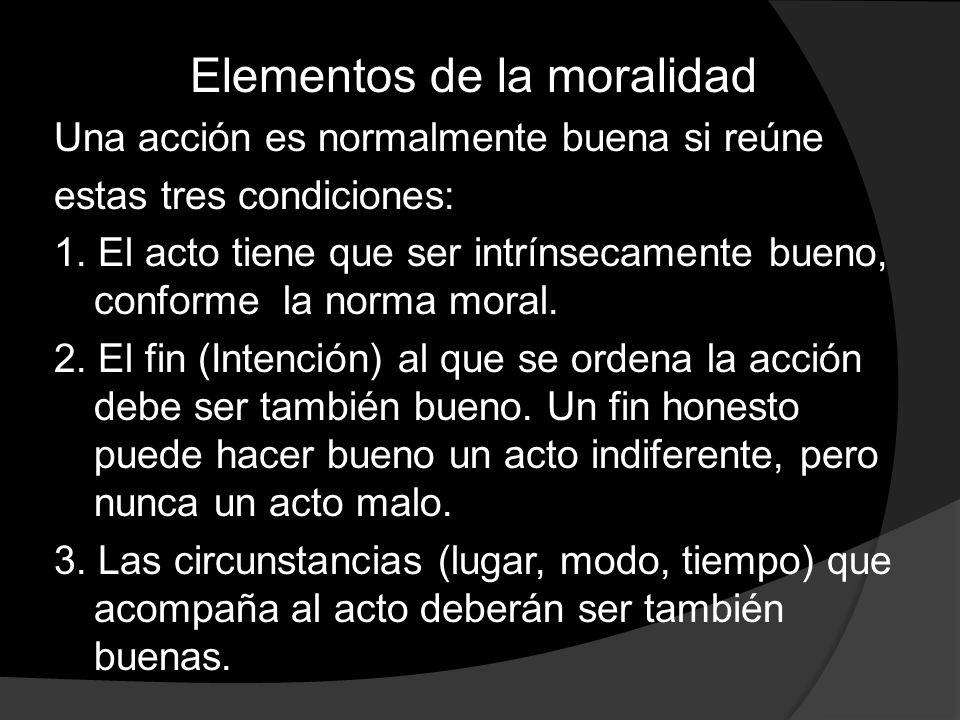 Elementos de la moralidad