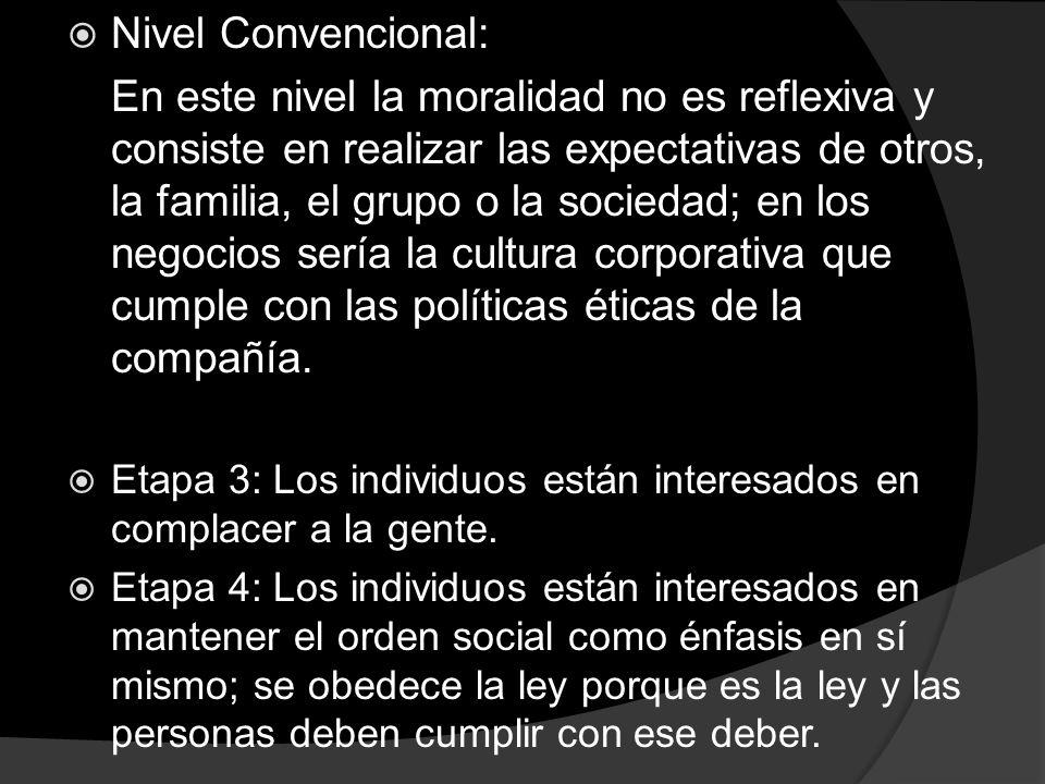 Nivel Convencional: