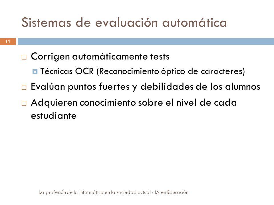 Sistemas de evaluación automática