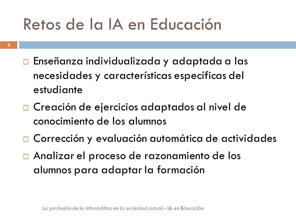 Retos de la IA en Educación