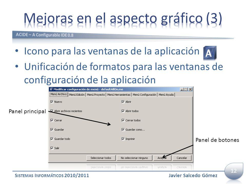 Mejoras en el aspecto gráfico (3)