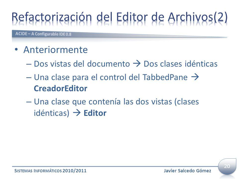 Refactorización del Editor de Archivos(2)