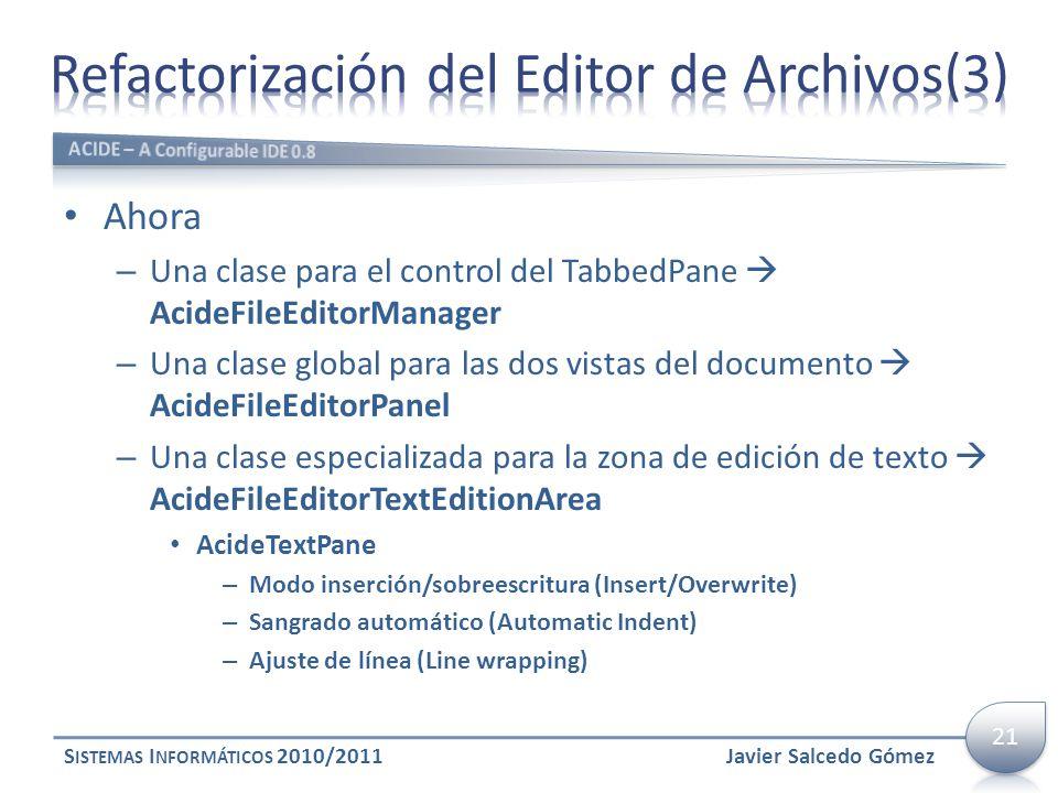 Refactorización del Editor de Archivos(3)