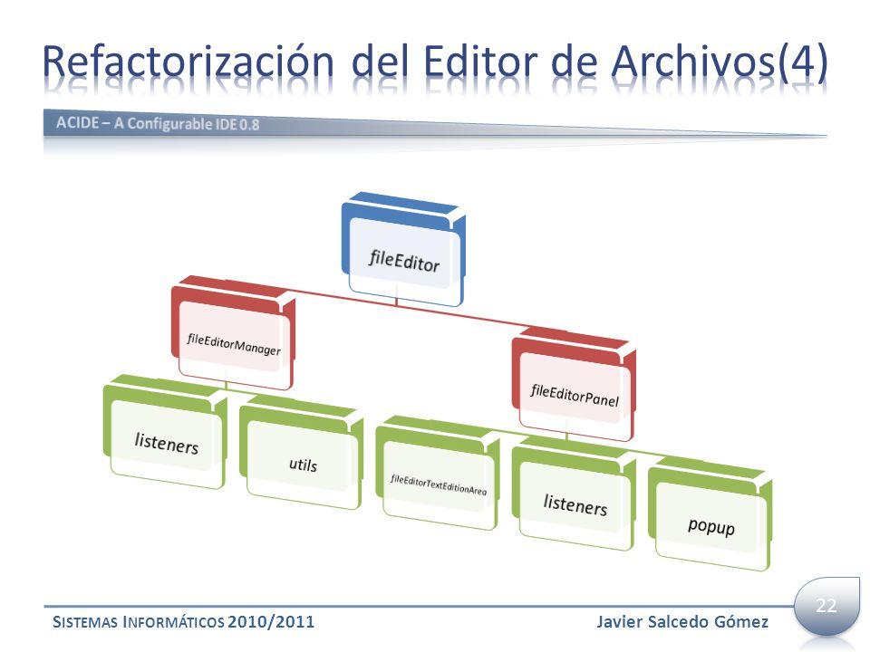 Refactorización del Editor de Archivos(4)