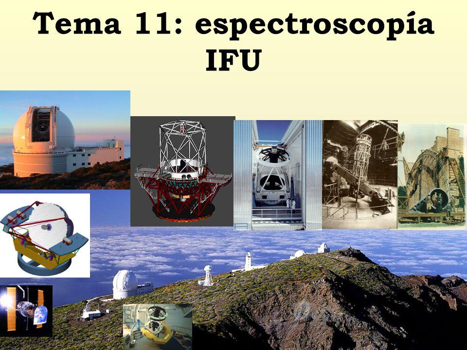 Tema 11: espectroscopía IFU
