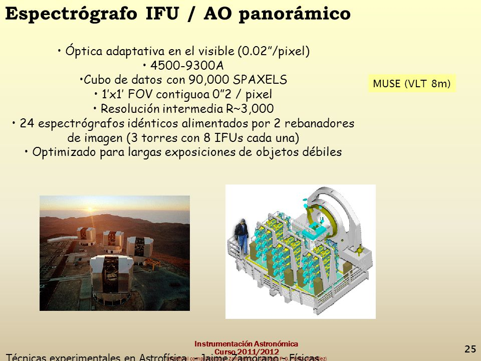 Espectrógrafo IFU / AO panorámico