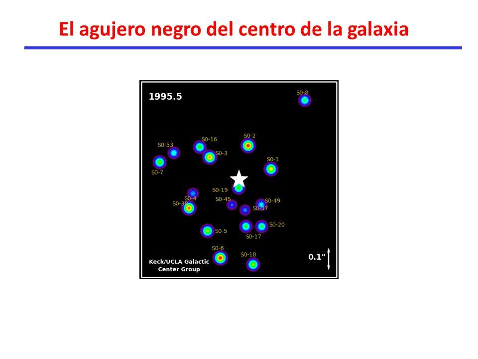 El agujero negro del centro de la galaxia