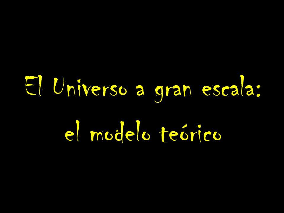 El Universo a gran escala: