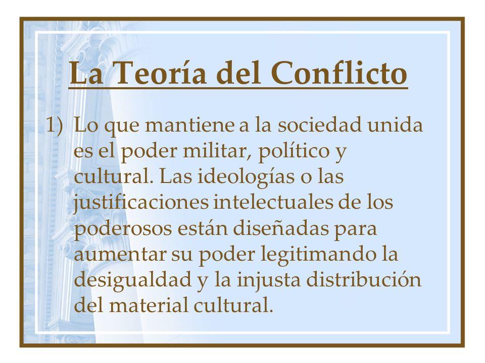 La Teoría del Conflicto