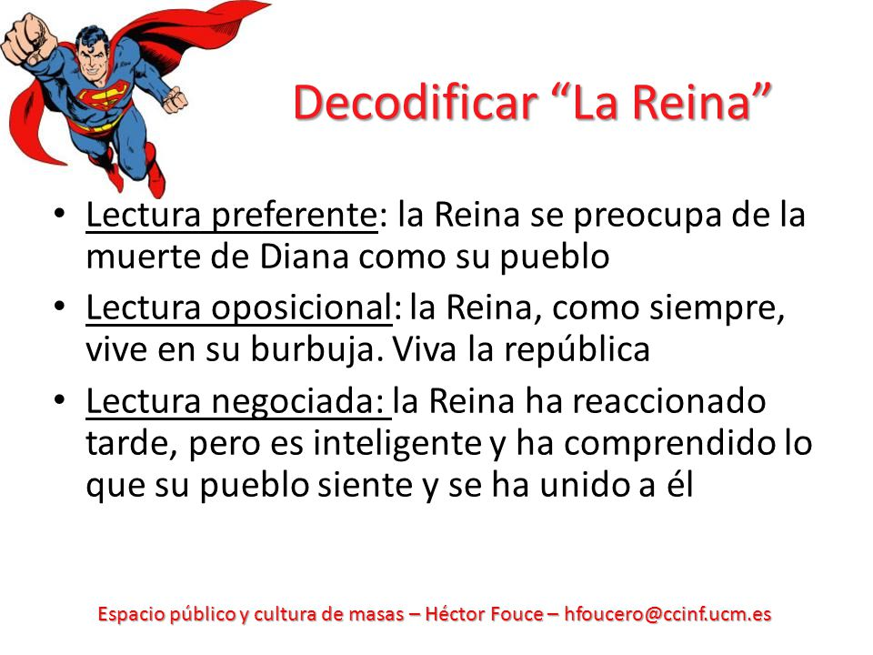 Decodificar La Reina