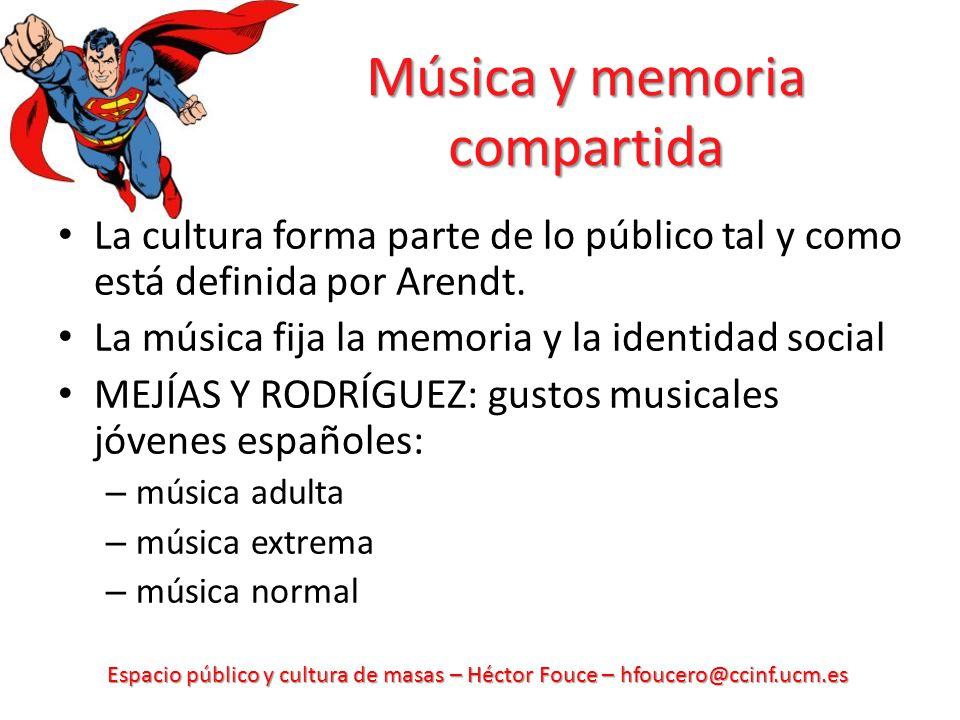 Música y memoria compartida
