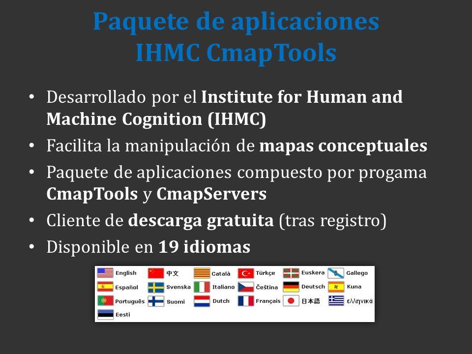 Paquete de aplicaciones IHMC CmapTools