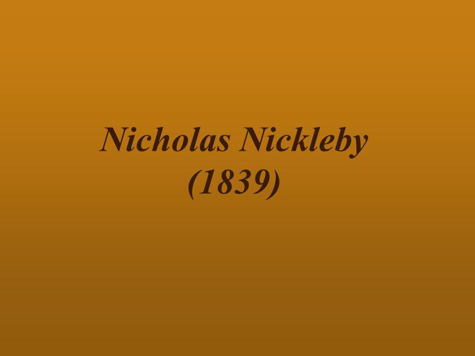 Nicholas Nickleby (1839)