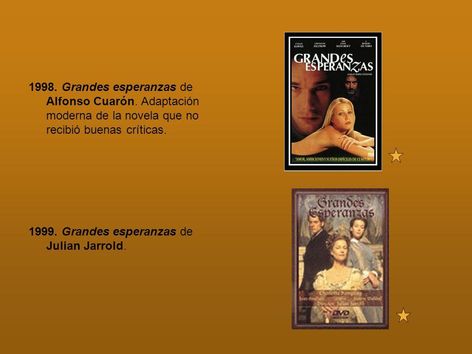 1998. Grandes esperanzas de Alfonso Cuarón