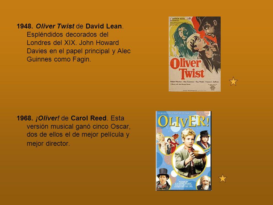 1948. Oliver Twist de David Lean