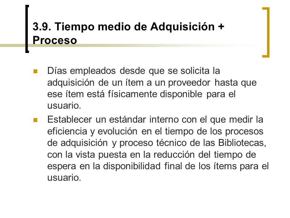 3.9. Tiempo medio de Adquisición + Proceso