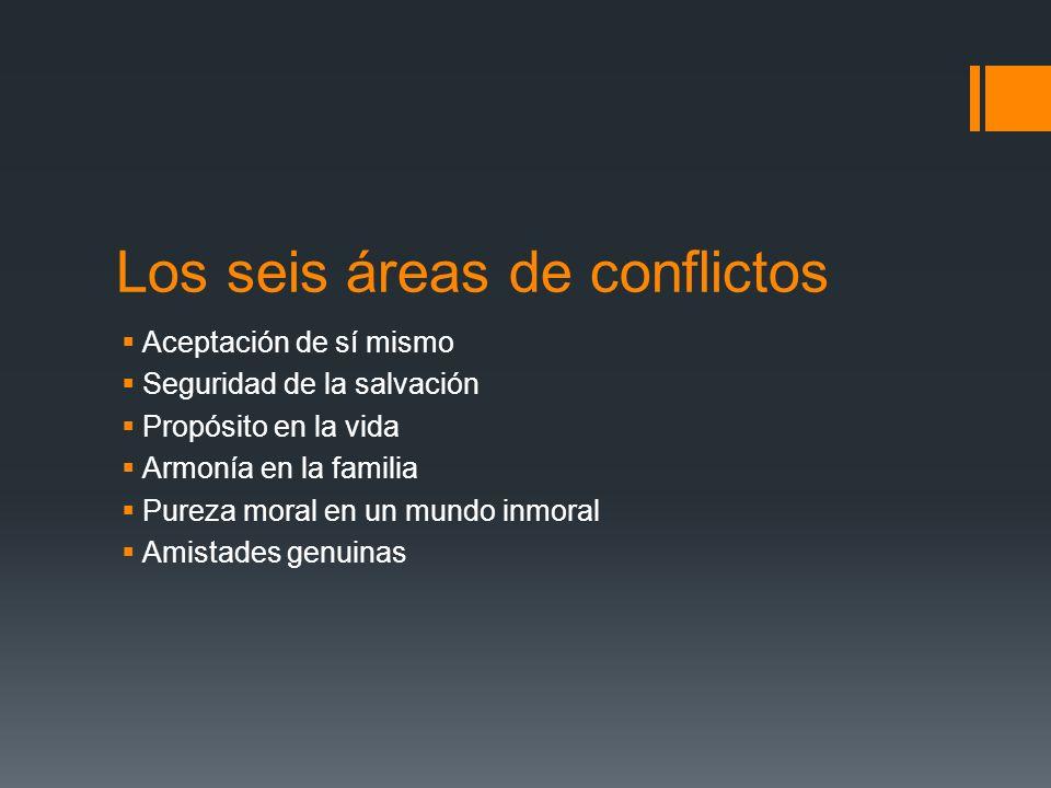 Los seis áreas de conflictos