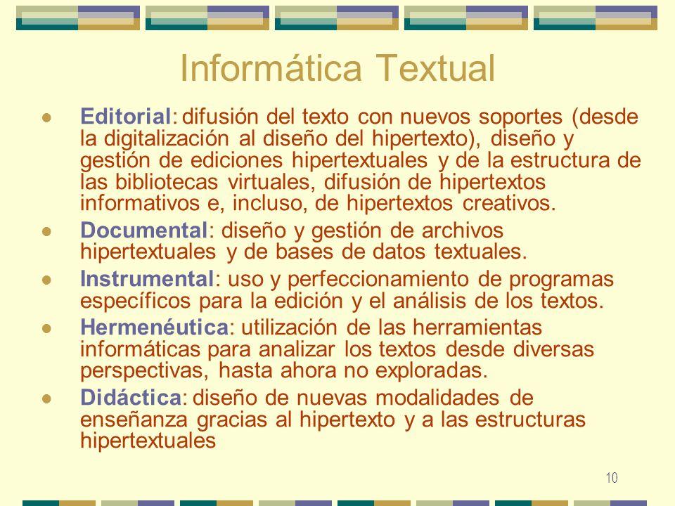 Informática Textual