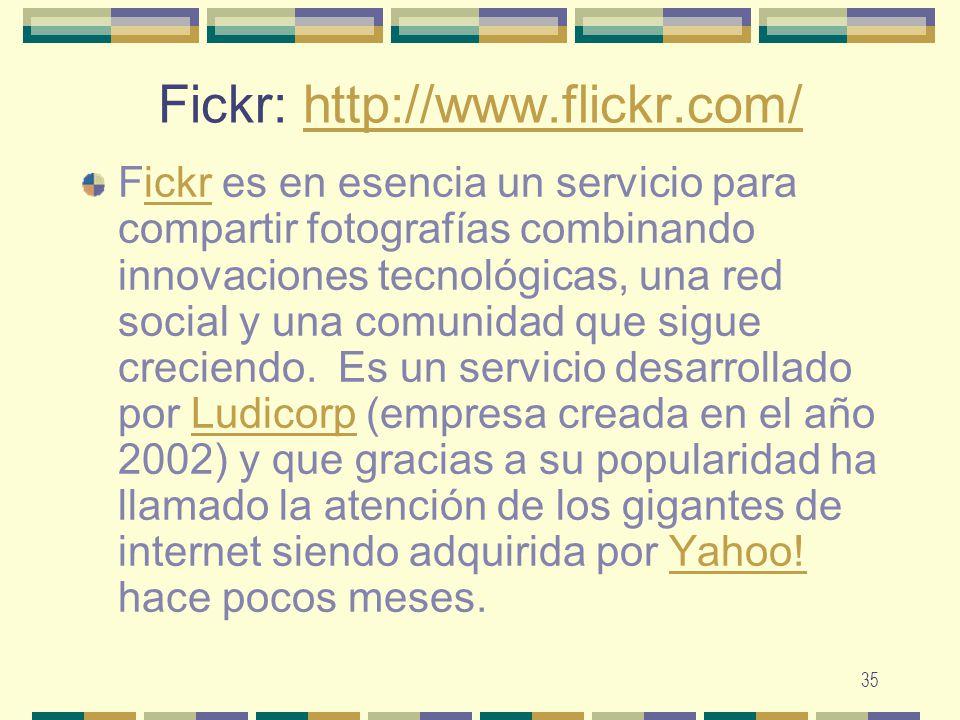 Fickr: http://www.flickr.com/