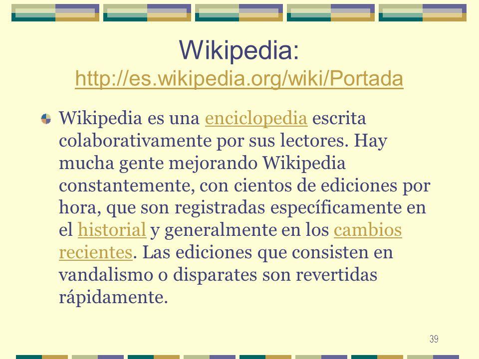 Wikipedia: http://es.wikipedia.org/wiki/Portada