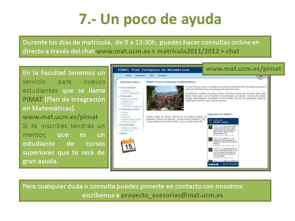 escríbenos a proyecto_asesorias@mat.ucm.es