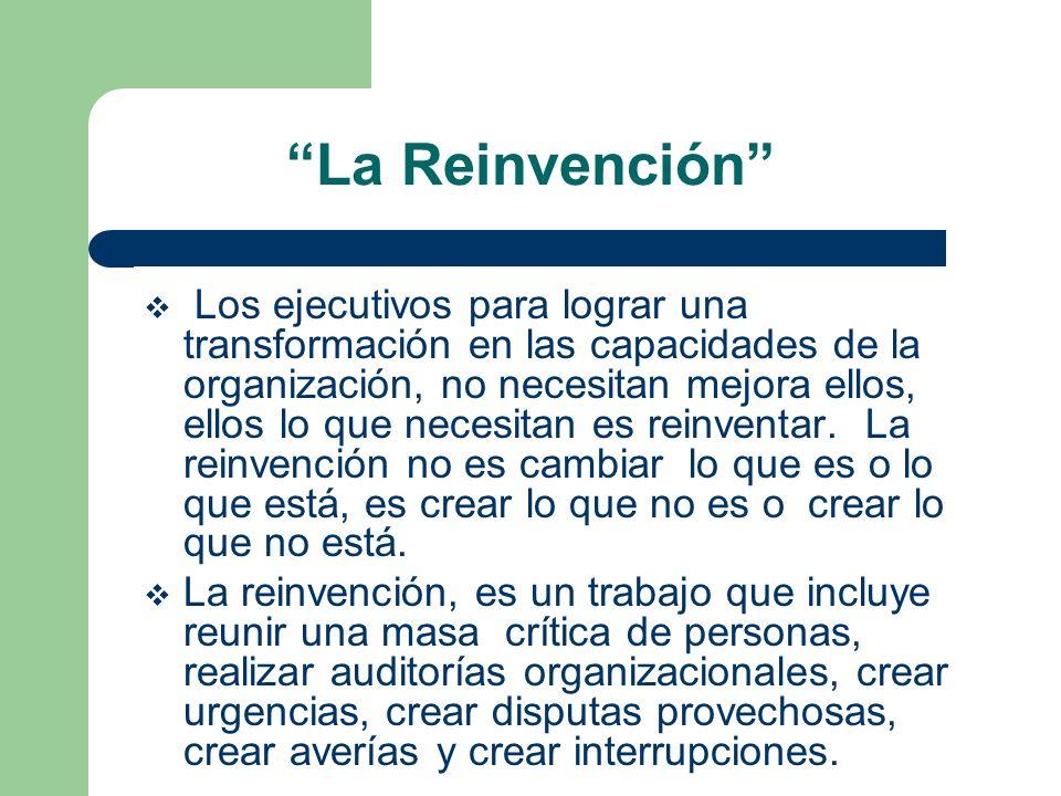La Reinvención