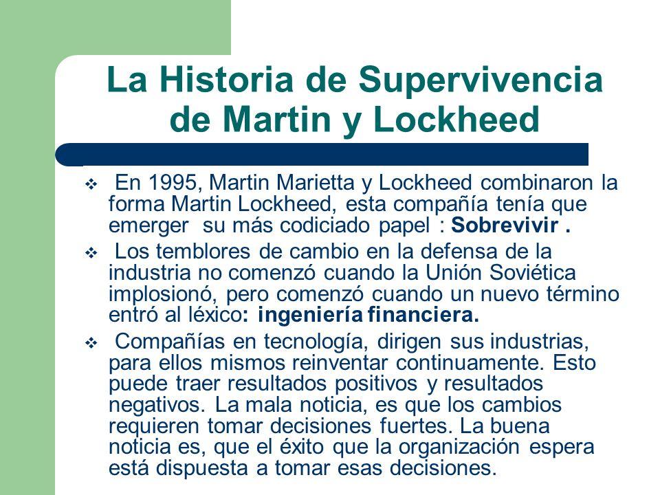 La Historia de Supervivencia de Martin y Lockheed