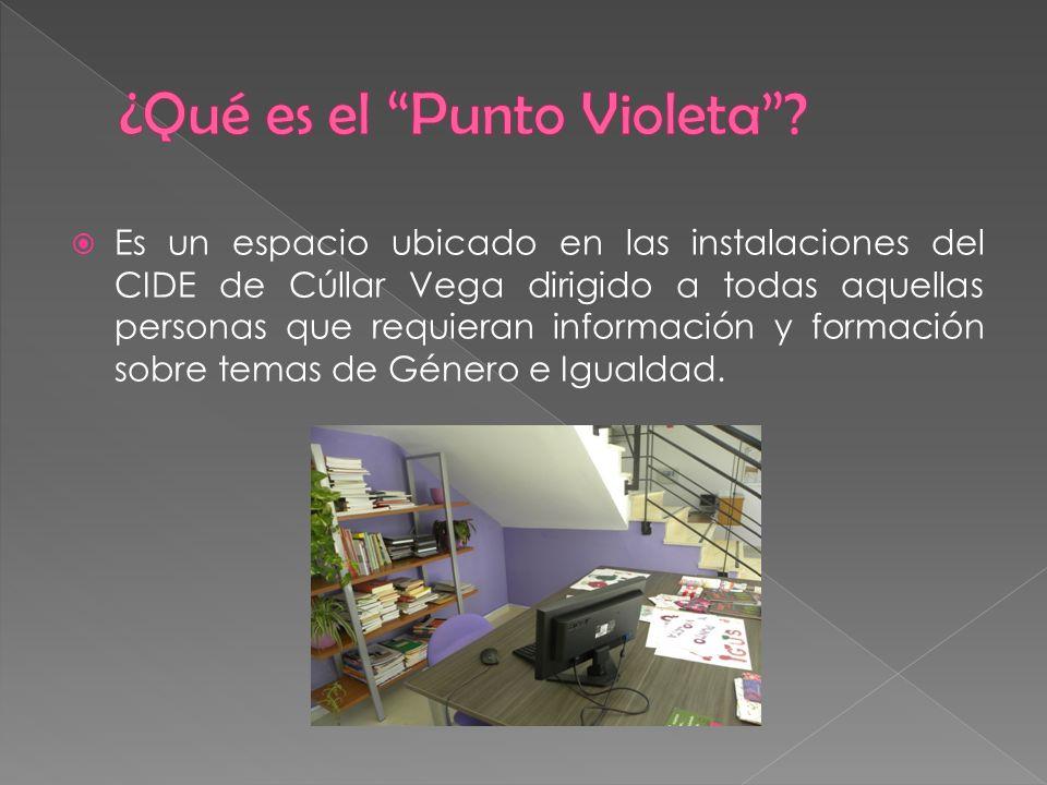 ¿Qué es el Punto Violeta