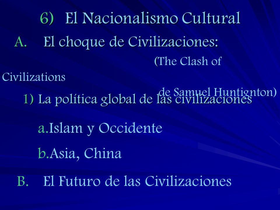 El Nacionalismo Cultural