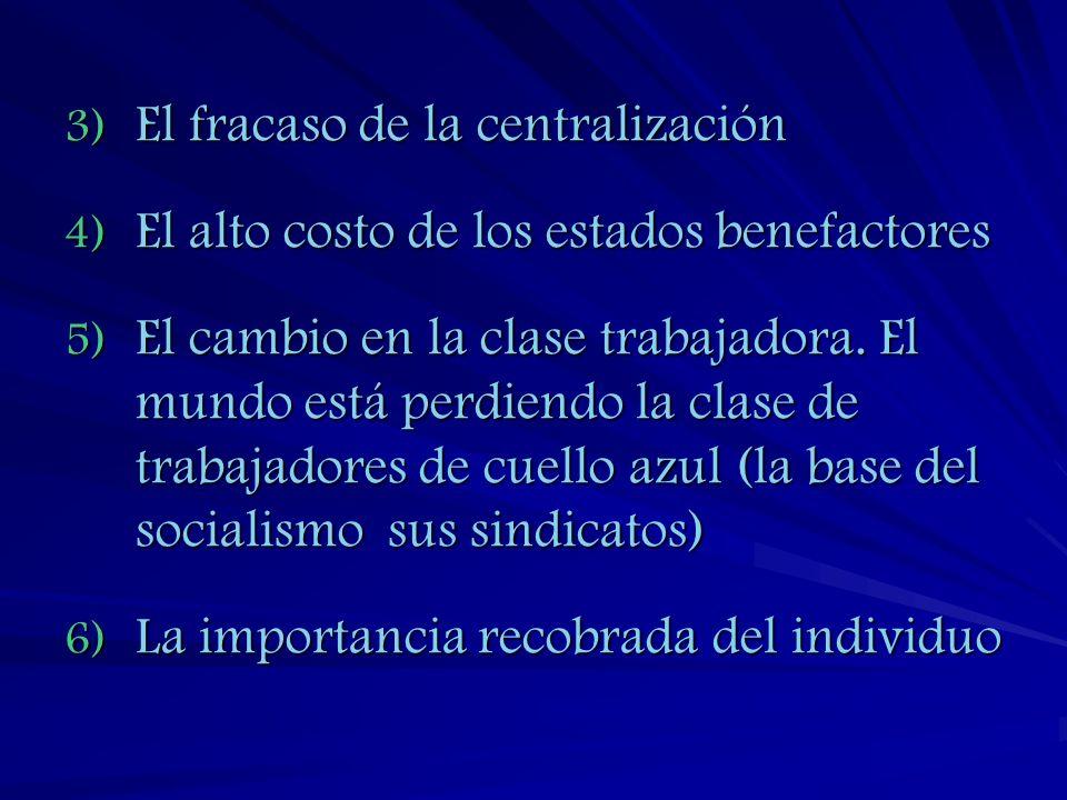 El fracaso de la centralización