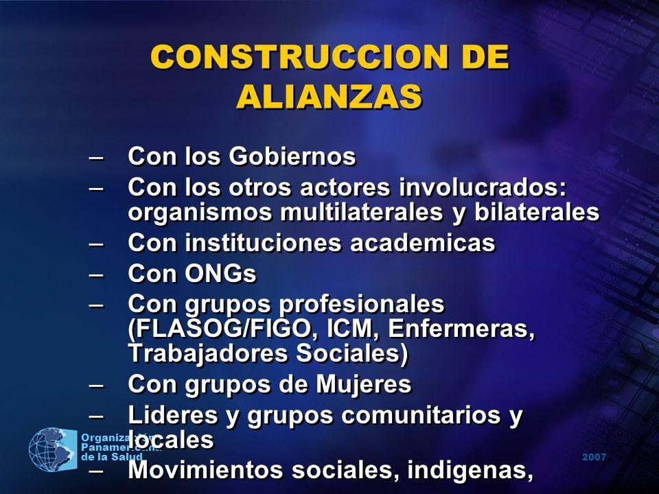 CONSTRUCCION DE ALIANZAS