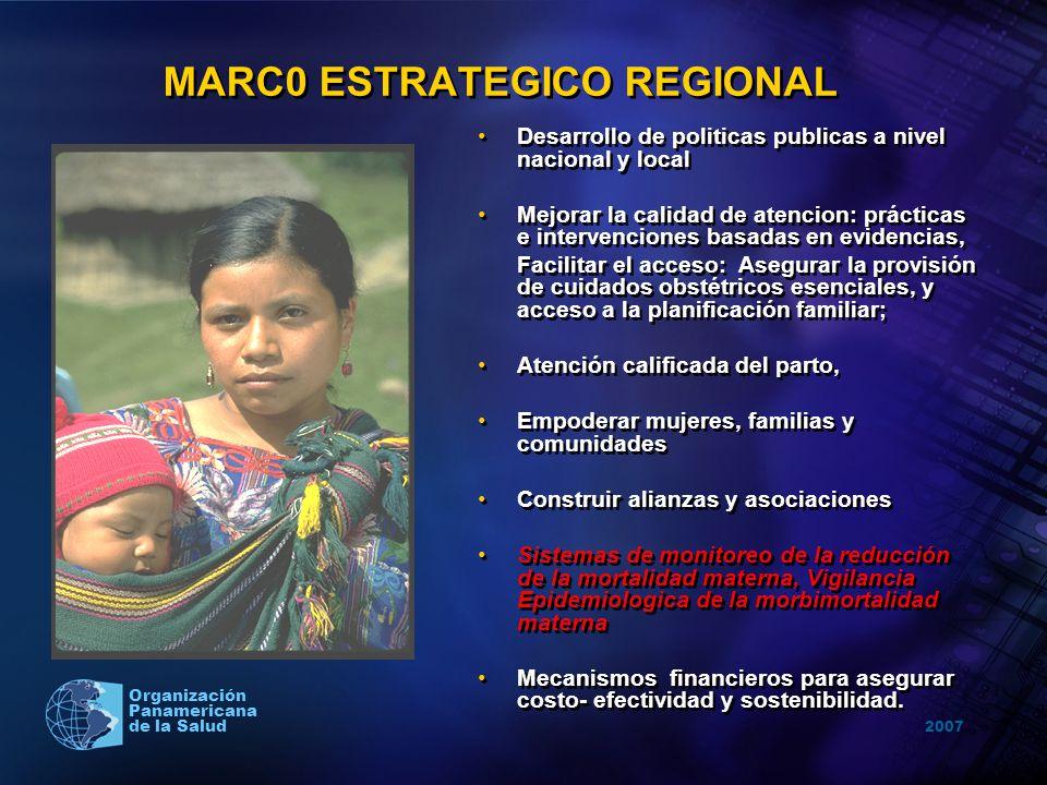 MARC0 ESTRATEGICO REGIONAL