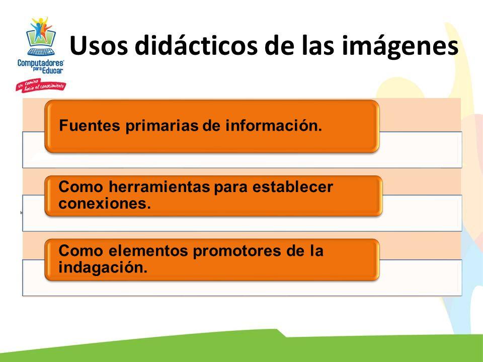 Usos didácticos de las imágenes