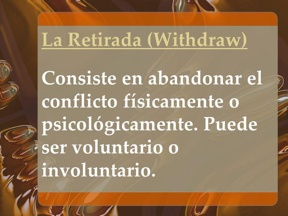 La Retirada (Withdraw)