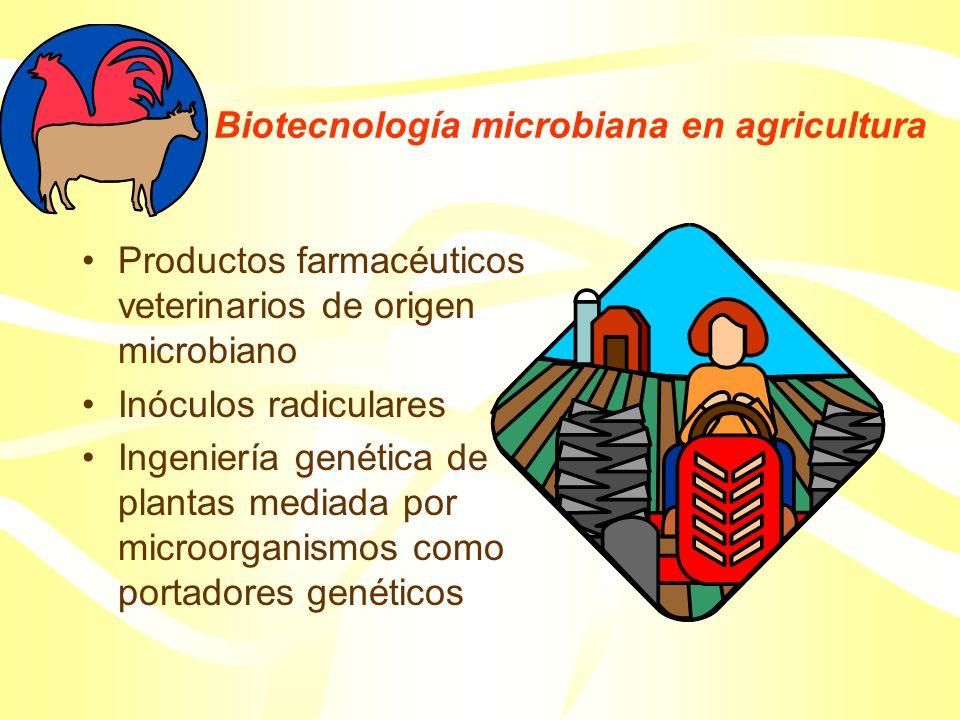 Biotecnología microbiana en agricultura