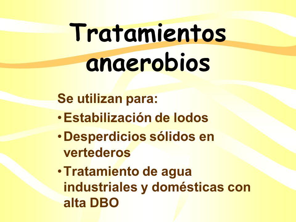 Tratamientos anaerobios