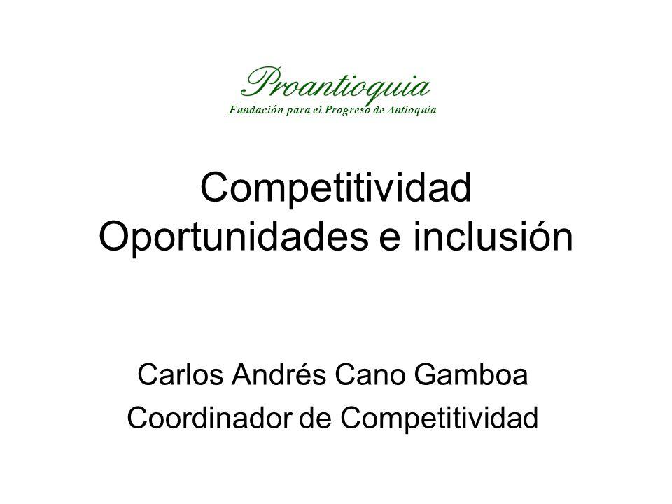 Competitividad Oportunidades e inclusión